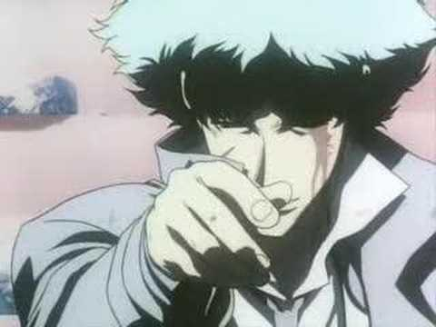 (English)Cowboy Bebop-Spike VS Vicious - The real folk blues Video