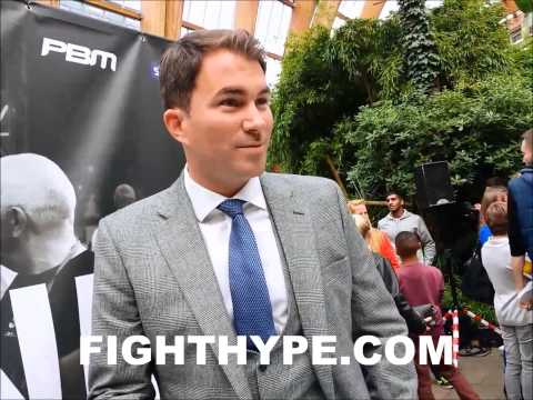 EDDIE HEARN SAYS NO ONES EVER HEARD OF KEITH THURMAN SO NOT A FIRST DEFENSE FOR KELL BROOK