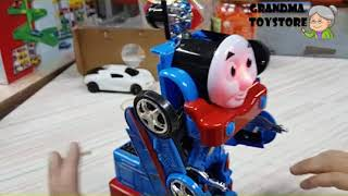 Unboxing TOYS Review/Demos - thomas the train transformer automated robot