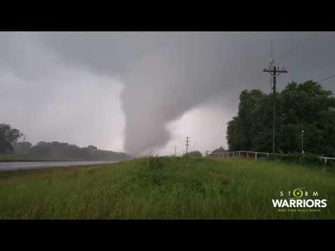 04-29-17 Eustace TX Intense Tornado