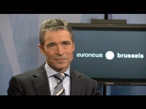 euronews interview - Rasmussen: 'No role for NATO in Mali'