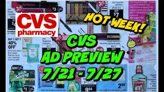 🔥CVS AD PREVIEW (7/21 - 7/27) | HOT WEEK OF FREEBIES, CHEAP DIAPERS & MORE!