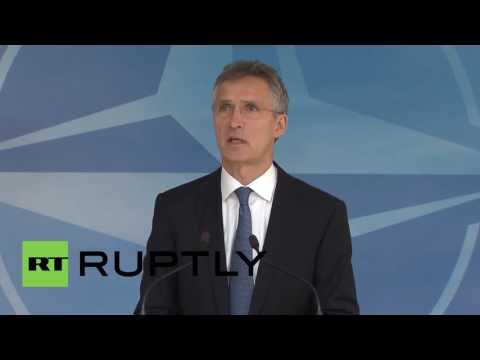 Belgium: NATO to increase Black Sea military presence - Stoltenberg