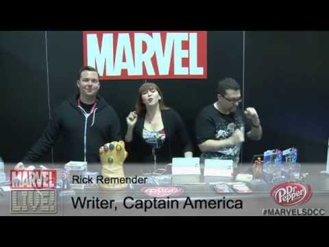 Writer Rick Remender Discusses Axis and Falcon as the New Captain America in Comic-Con 2014
