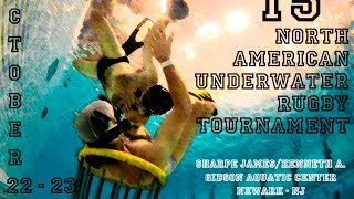 15th North American UnderWater Rugby Tournament