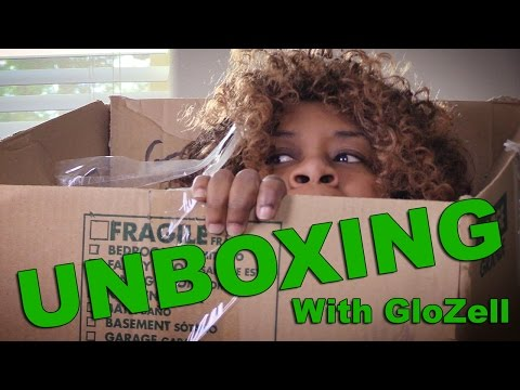 Unboxing Fail - with GloZell