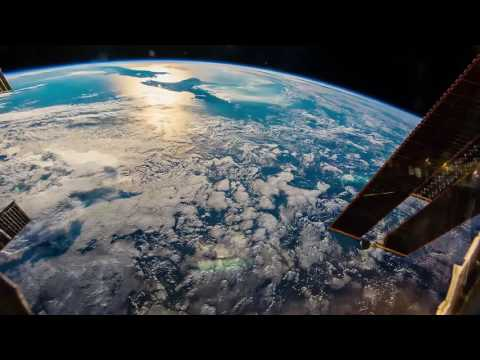 ISS Timelapse - From New Zealand to sunset (24 Gennaio 2015)