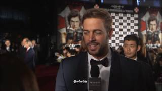 William Levy @willylevy29 talks about his debut in Resident Evil: The Final Chapter