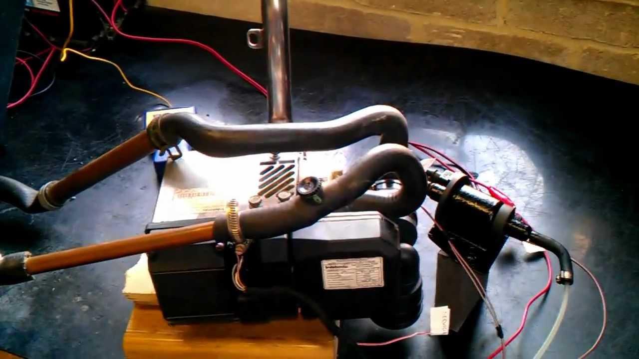 Webasto Thermo Top C Diesel Water Heater 12v Boat  Camper