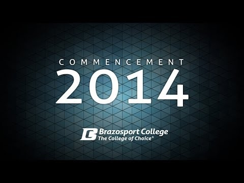 Brazosport College Commencement 2014 - LIVE