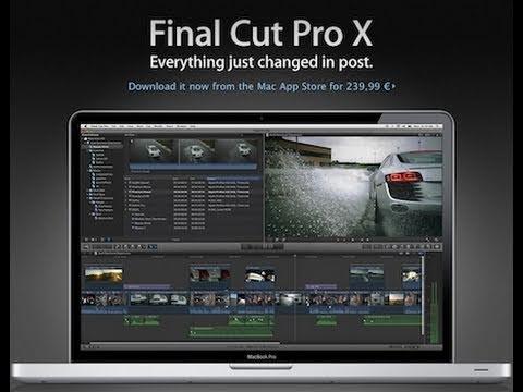 Comentarios sobre Final Cut Pro X