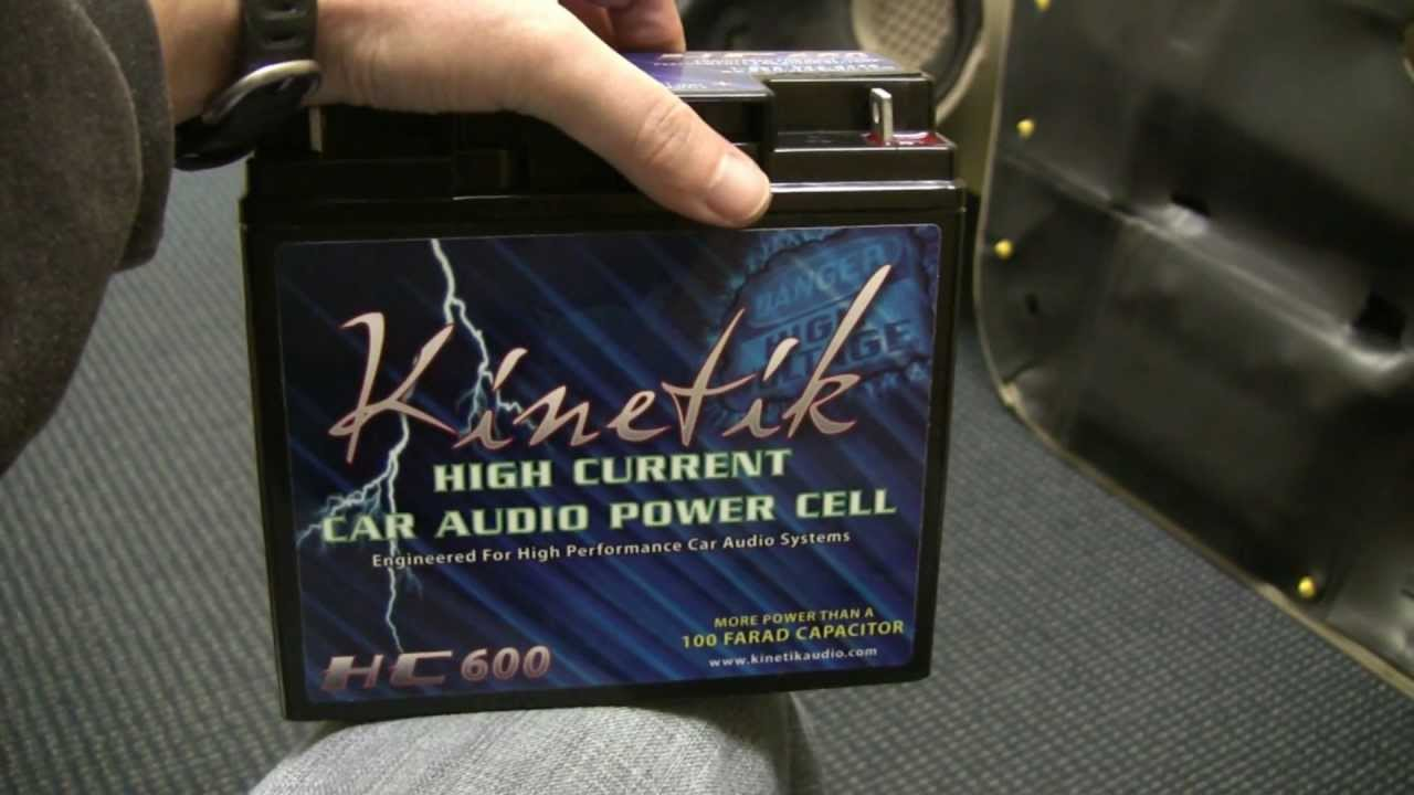 What Is Ect >> SQ Car Audio Project Part 7 Kinetik Battery and Sub Box Frustrations - YouTube