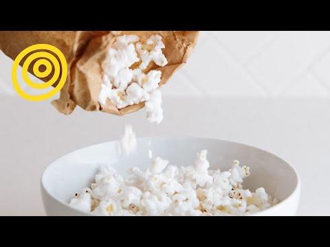 Plain Microwave Popcorn Make Microwave Popcorn in