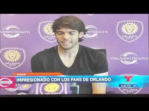 Kaka impressed by Orlando City Soccer ' s fans.