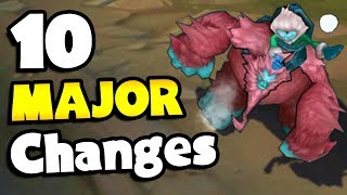 10 MAJOR Changes Coming To League of Legends