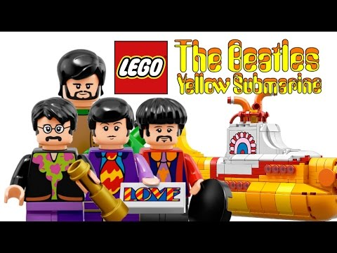 LEGO The Beatles Yellow Submarine set - My Thoughts!