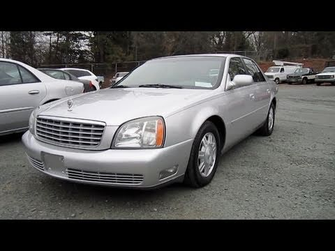 2003 Cadillac Deville Start Up. Engine. and In Depth Tour