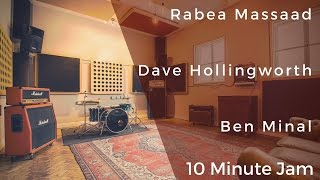 Rabea Massaad, Dave Hollingworth & Ben Minal - 10 Minute Jam