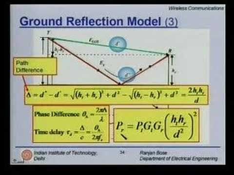 Lecture 9 - Mobile Radio Propagation Contd