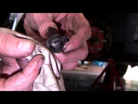 How to replace left front axle seal and CV axle. Chev 4X4