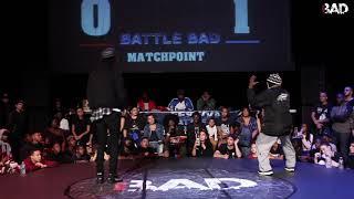 LARRY LES TWINS vs TLAW - Battle BAD 2018 - TOP8