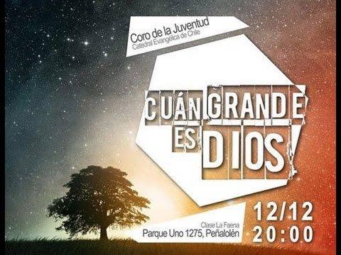 Concierto de la Juventud Cuán Grande es Dios 12-12-2014