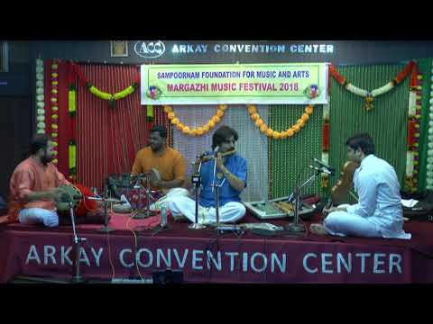 Sampoornam Foundation For Music And Arts-V.K.Raman Flute