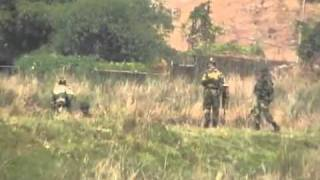 BDR-BSF & Villagers in Bangladesh-India Border.flv