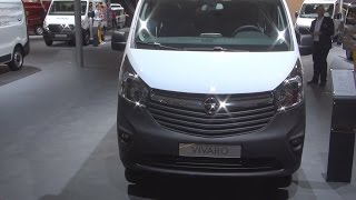 Opel Vivaro Panel Van Double Cab L1H1 1.6 BiTurbo CDTI Exterior and Interior in 3D 4K UHD