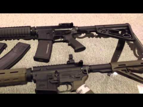 Sig Sauer M400 Enhanced vs Colt LE 6920