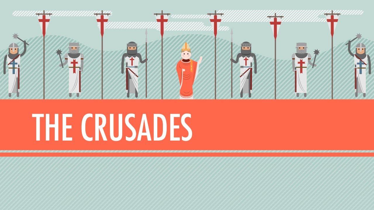 the crusades pilgrimage or holy war crash course world history 15 youtube. Black Bedroom Furniture Sets. Home Design Ideas