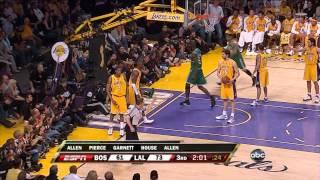 Boston Celtics' amazing 24 point comeback vs Lakers (2008 NBA Finals Game 4)