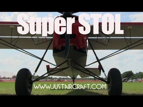 Super Stol experimental light sport aircraft pilot review by James Lawrence.
