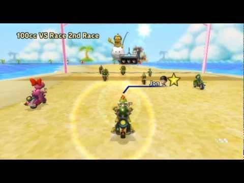 Mario Kart Wii - - Online Races 64: Reptilian Racing