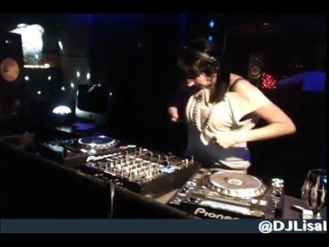 Lisa Lashes Live - Basement #Techno Session #1