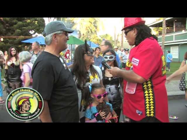 Lahaina Halloween 2013 Keiki Parade Na Koa Ikaika Maui in the Community 10/31/13