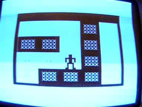 Mazogs on a real Sinclair 16k ZX81 vintage home computer. Gameplay & Commentary