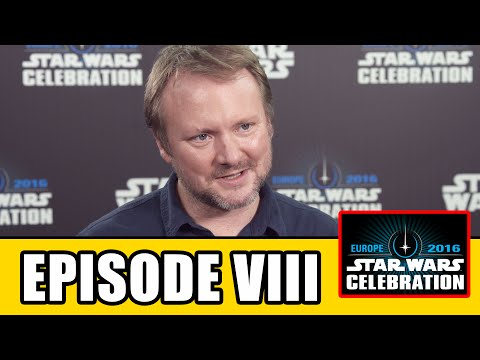 STAR WARS EPISODE 8 Star Wars Celebration Interview - Rian Johnson