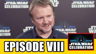 STAR WARS EPISODE 8 Star Wars Celebration Interview - Rian Johnson