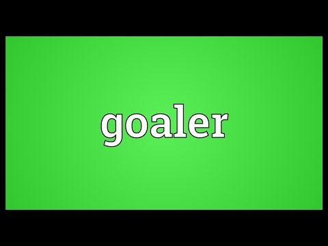 Header of goaler