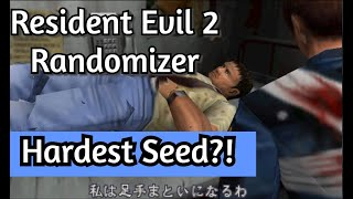 Resident Evil 2 - Randomizer - Hardest RE2 Rando Available ?