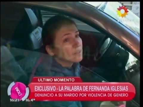 """Fernanda Iglesias: """"Mi marido no es asesino serial, no es una mala persona, tiene problemas"""""""