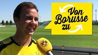 "Your 09 Questions for Mario Götze | ""From Borusse to Borusse""