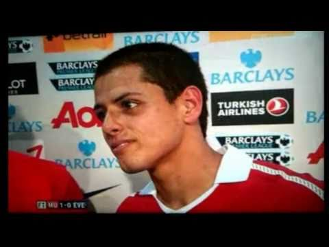 CHICHARITO La Hace D Traductor   Manchester United vs Reading