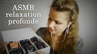 ASMR relaxation profonde / in french / in russian / asmr scratching