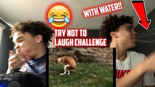 TRY NOT TO LAUGH CHALLENGE WITH WATER💦!!! EXTREMLEY FUNNY😂
