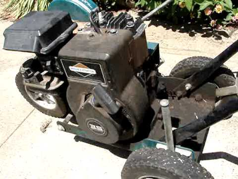 Murray Ultra Edger With A 3 5 Hp Briggs And Stratton How