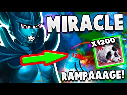 Miracle Dota 2 Phantom Assassin RAMPAGE