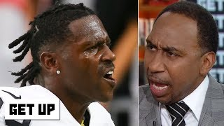 Stephen A.'s Antonio Brown rant: He's a disgrace, incredibly selfish and should be ashamed | Get Up
