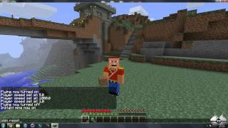 Minecraft 1.2.5 - How To Install Single Player Commands